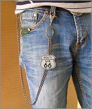 Chaine pour portefeuille et déco Route 66 custom chain wallet Kette Geldbörse