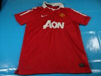 authentic vtg Manchester united 2010-11 soccer football shirt jersey