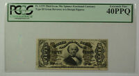 Third Issue 50 Cent Spinner Fractional Currency Note Type II PCGS 40PPQ Fr. 1339