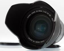 Canon EF-S Fit. apertura costante 18-50mm f2.8 Ex DC AF Zoom da Sigma in buonissima condizione