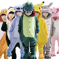Kids Pajamas Kigurumi Unisex Cosplay Animal Costume Cute Sleepwear Nightwear