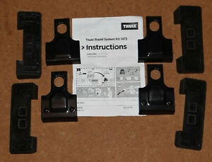 Thule Roof Bars Fitting Kit 1472, FORD S-MAX MPV 2006- with Panoramic roof