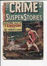 CRIME SUSPENSTORIES 21 FR-GD  1954