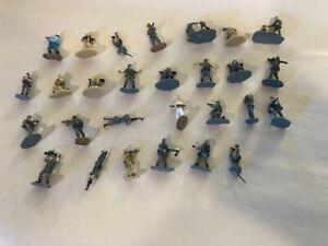 Micro Machines Galoob Huge Assortment Military Action Figures - over 75 pieces