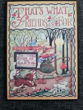 "Mary Engelbreit Colorplak Plaque Sign That's what friends are for 6"" x 8 1/2"""