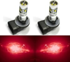 LED 30W 896 H27 Red Two Bulbs Fog Light Replacement Show Use Lamp Off Road