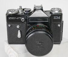 Zenit EM  Russian 35mm  Camera W/ Helios-44M 58mm F2 1980 Moskow Olympics