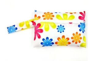 Small Wet Bag for Reusable Washable Menstrual Pads / Nappy / Wipes/ Breast Pads