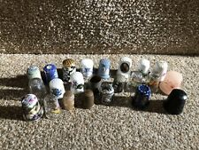 More details for vintage thimbles thimble job lot collectable some rare good quality