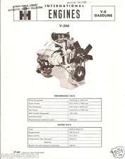 Truck Brochure - International IH - V-266 Engine (TB934)