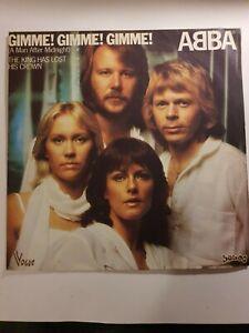 Single 7' Vinyl ABBA  - Gimme! Gimme! Gimme!