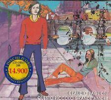 CLAUDIO BAGLIONI - questo piccolo grande amore CD