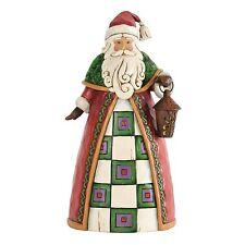 Heartwood Creek The Light of Christmas Santa Holding Lantern Figurine 4034362