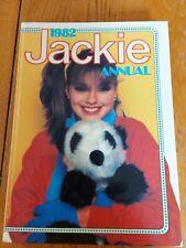 Jackie Annual 1982 Pop, Beauty, Fashion, Quizzes, Astrology, Hardback