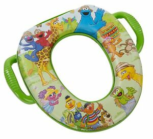 Sesame Street Safari Potty Pottie Seat by Ginsey Home Solutions 105028 93002