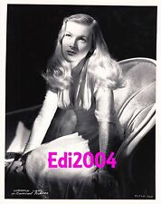 VERONICA LAKE Older Restrike Photo 1941 GEORGE HURRELL Classic Portrait