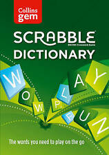 Collins Gem Scrabble Dictionary: The Words You Need to Play on The Go [Fourth...