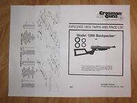 Crosman 761XL 761 XL One O-Ring Seal Kit Exploded View /& E-Z Seal Guide 1