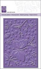Embossing Folder Cart-Us For Cuttlebug Sizzix Big-Shot Machine Butterfly Flowers