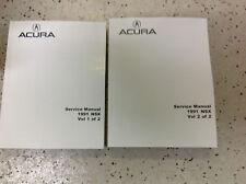 1991 Acura NSX Service Shop Repair Manual BRAND NEW BOOK 1991 ACURA NSX
