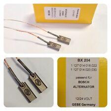 TOP QUALITY BX204 2 BRUSH SET FOR BOSCH ALTERNATORS 8MM X 5MM X 19.5MM