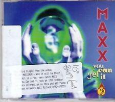 (BU928) Maxx, You Can Get It - 1994 DJ CD