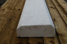 Chamfered flat top concrete coping stone 60kg