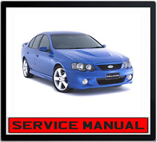 FORD FALCON BA 2002-2005 SERVICE REPAIR MANUAL IN DVD