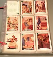 Vintage 1994 American Girl Trading Cards Album Pleasant Company 80