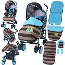 Isafe Niños Bebé Niño Cochecito Buggy Pushchair incluye protector contra la lluvia & Saco