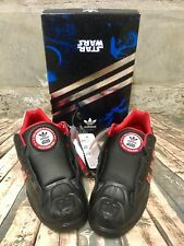 New Adidas ULTRASTAR STAR WARS DARTH VADER S.W Sneakers 9.5 Limited Edition RARE