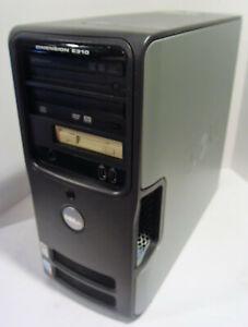 Dell Dimension E310 PC Desktop (Intel Pentium 4 2.8GHz 2GB 250GB Win 7 Pro)