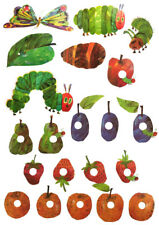 Hungry Caterpillar Wall Stickers - SMALL SIZE