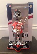 Lou Seal San Francisco Giants Mascot 2014 World Series Champs Trophy Bobblehead