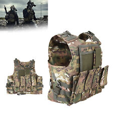 Amphibious Military CP Camo Waistcoat Combat Hunting Camping Plate Carrier Vest
