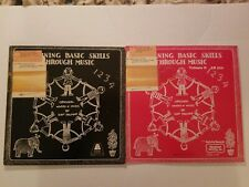 Learning Basic Skill Through Music Palmer Educational Activities LP Records