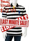 U.S. Polo Assn. Big Pony Striped Polo Shirt-Large
