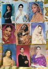 Lot 17 Rare Bollywood Actress Madhuri Dixit Postcard Postcards Post Card P10
