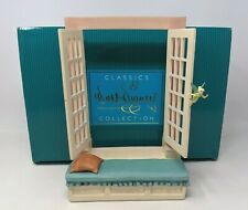WDCC Disney Off To Neverland Window Base From Peter Pan with Original Box A003