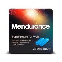 Mendurance Supplements x 2 For Men - 6 packs
