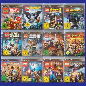 PS3 - Playstation ► Lego Spiel nach Wahl - Batman   Indiana Jones   Star u.v.m ◄