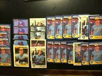 1980-1984⭐️28 Robin Yount Baseball cards HI-END NM-MT & MINT Brewers-FREE SHIP