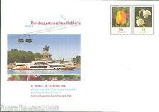 Deutschland Ganzsache GA BUGA Koblenz 2011 Portogerechter Versand + Tagesstempel