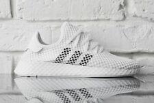 Zapatillas Adidas Originals para hombre deerupt Runner Zapatos blancos en la nube DA8871