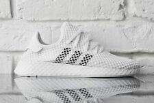 adidas Originals Mens Deerupt Runner Trainers Cloud White Shoes DA8871