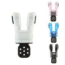 Scuba Diving Moldable Silicone Mouthpiece with Tie Wrap Fits Standard Regulators