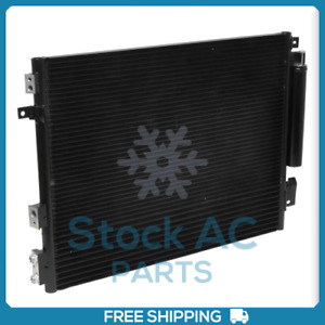 New A/C Condenser for Chrysler 300 / Dodge Challenger, Charger - OE# 68050127AA