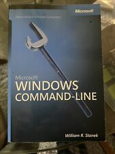 Microsoft Windows Command-Line Administrator's Pocket Consultant by William...