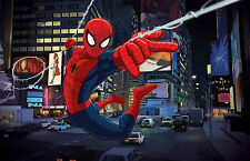 Spiderman Autocollant Mural Vinyle Mur Autocollants