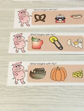 Phonics Pp - What Begins With Pp - Laminated Activity Set - Teaching Supplies